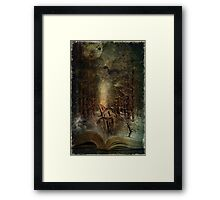 Night Story Framed Print