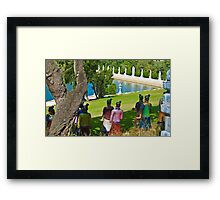 Guarding the Source  Framed Print