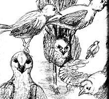 Sea Birds by alexofalabama