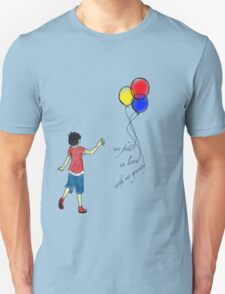 we fell in love with our gravity part 2 Unisex T-Shirt