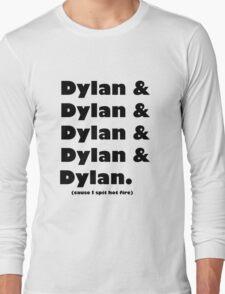 Dylan's Favorite Rapper List Long Sleeve T-Shirt