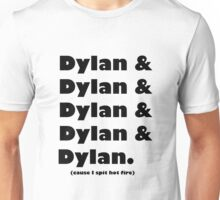 Dylan's Favorite Rapper List Unisex T-Shirt