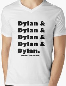 Dylan's Favorite Rapper List Mens V-Neck T-Shirt