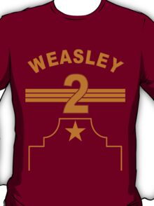 Ron Weasley - Gryffindor Quidditch Team T-Shirt
