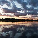 Twin Lakes- Pano by Angela King-Jones