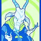 lady blue zebu by Ejay Basford