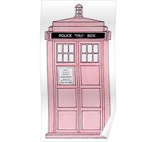 Pink TARDIS. Poster