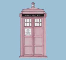 Pink TARDIS. Kids Clothes