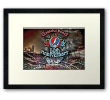 Grateful Dead 50th Anniversary  Framed Print