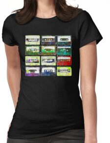 Cassettes #3 Womens Fitted T-Shirt