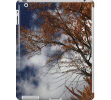 Fall Orange with Clouds iPad Case/Skin