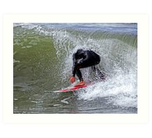 The Headless Surfer Art Print