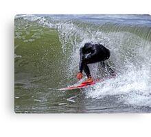 The Headless Surfer Canvas Print