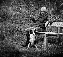One man and his dog by hampshirelady