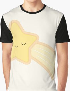 Happy Holidays - Shooting Star Graphic T-Shirt