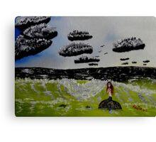 Mermaid Sea Canvas Print