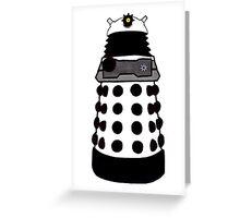 Transparent Dalek--New Paradigm. Greeting Card