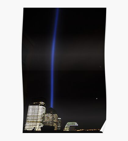 Tower Lights Poster