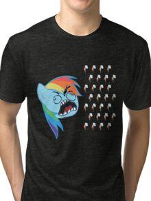 Rainbow Dash FU Tri-blend T-Shirt