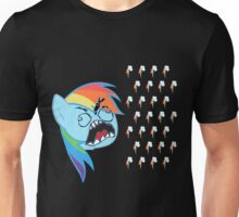 Rainbow Dash FU Unisex T-Shirt