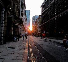 City Sunset by Vanessa  Warren