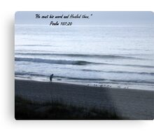 His Word Metal Print