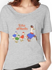Tales of Ducks  Women's Relaxed Fit T-Shirt
