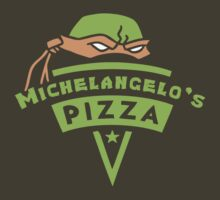 Michelangelo's Pizza T-Shirt