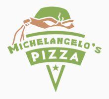 Michelangelo's Pizza Kids Clothes