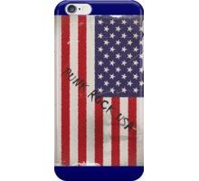 Punk Rock USA iPhone Case/Skin