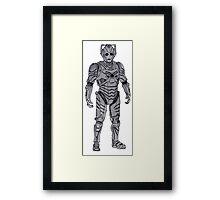 New Cyberman. Framed Print