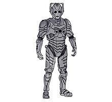 New Cyberman. Photographic Print