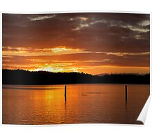 Bay of Islands sunrise.......! Poster