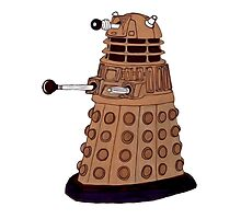 Bronze Dalek. Photographic Print