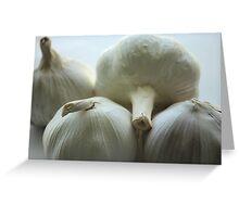 Garlic Bulbs Greeting Card