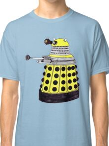 New Paradigm Dalek--Yellow, Watercolour. Classic T-Shirt