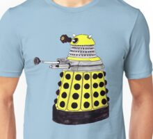 New Paradigm Dalek--Yellow, Watercolour. Unisex T-Shirt