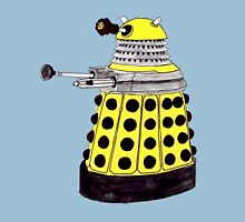 New Paradigm Dalek--Yellow, Watercolour. Unisex T-Shirt