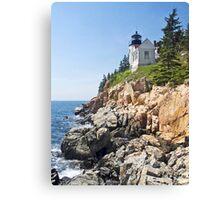 Bass Harbor Head Light, Acadia National Park, Maine Canvas Print