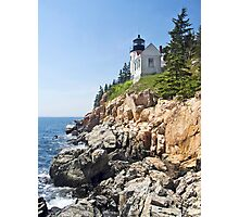 Bass Harbor Head Light, Acadia National Park, Maine Photographic Print