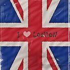 I Love London by shalisa