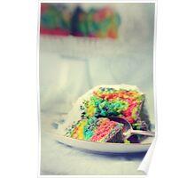 Rainbow Cake Poster