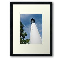 Hunting Island Lighthouse, South Carolina Framed Print
