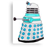 Classic Dalek. Metal Print