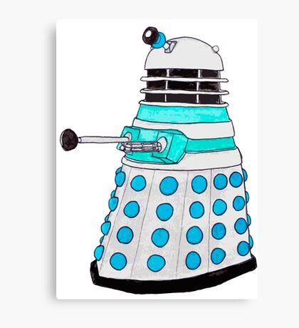 Classic Dalek. Canvas Print