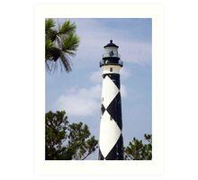 Cape Lookout Lighthouse, North Carolina Art Print