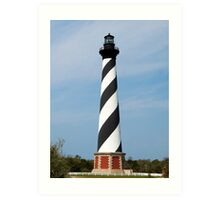 Cape Hatteras Lighthouse, Outer Banks, North Carolina Art Print