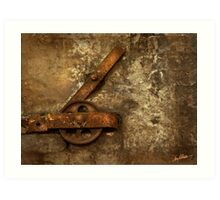 The Pulley Art Print