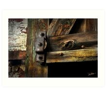 The Pulley 3 Art Print