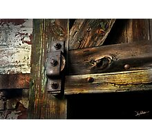 The Pulley 3 Photographic Print